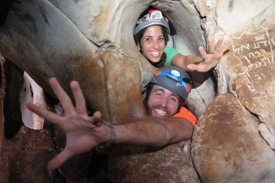 Wild-Trails Jerusalem Caving Adventure