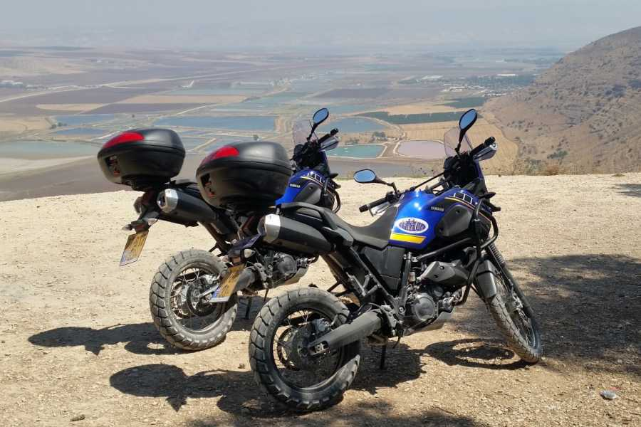 Bikelife - Motorcycle Tours in Israel Yamaha Tenere XTZ660 rental