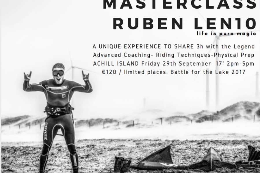 pure magic watersports BFTL18 Master class with Ruben Len10 and Kevin Langeree
