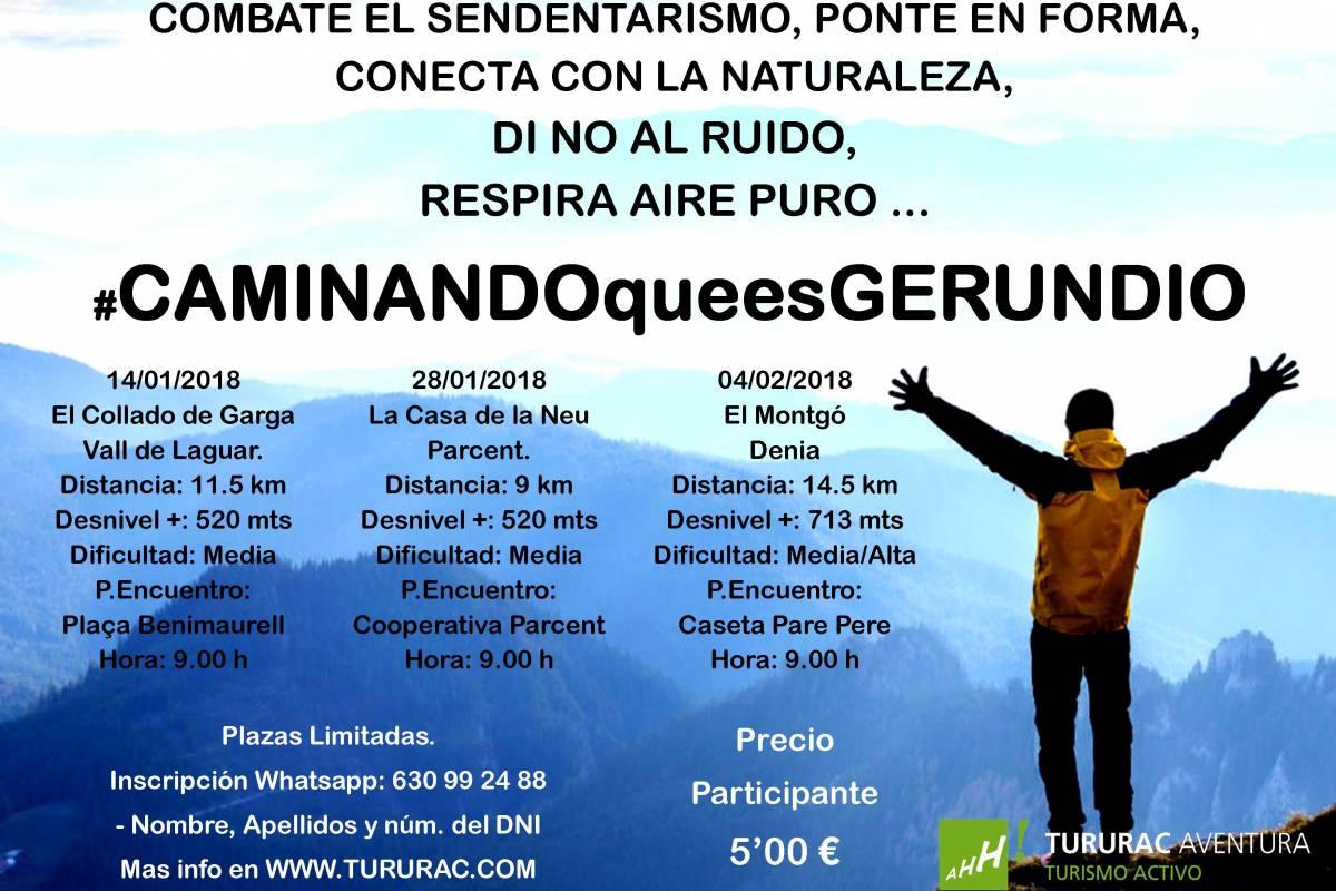 TURURAC. Turismo Activo y de Aventura Caminando que es Gerundio !!!