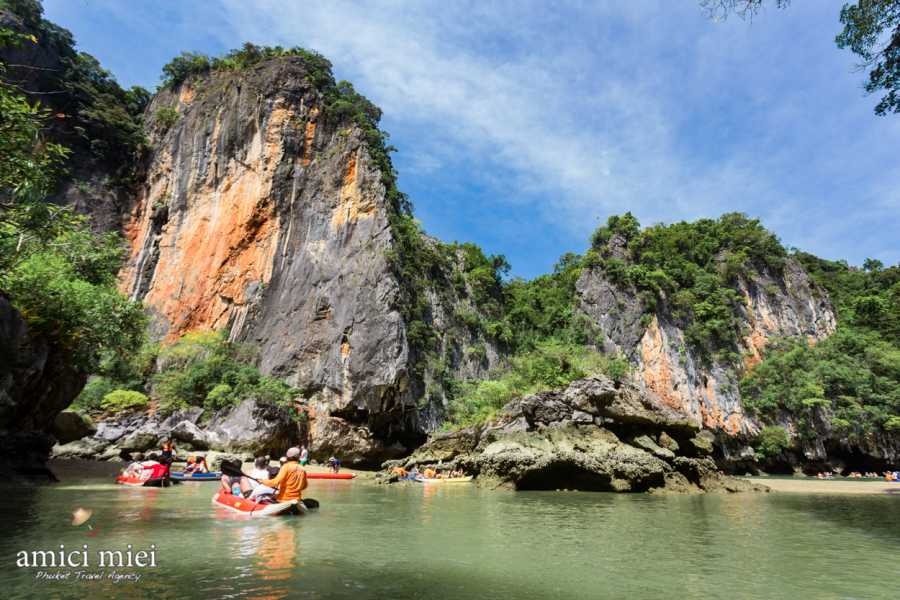 AMICI MIEI PHUKET TRAVEL AGENCY SUNRISE TRIP TO JAMES BOND ISLAND - AM095