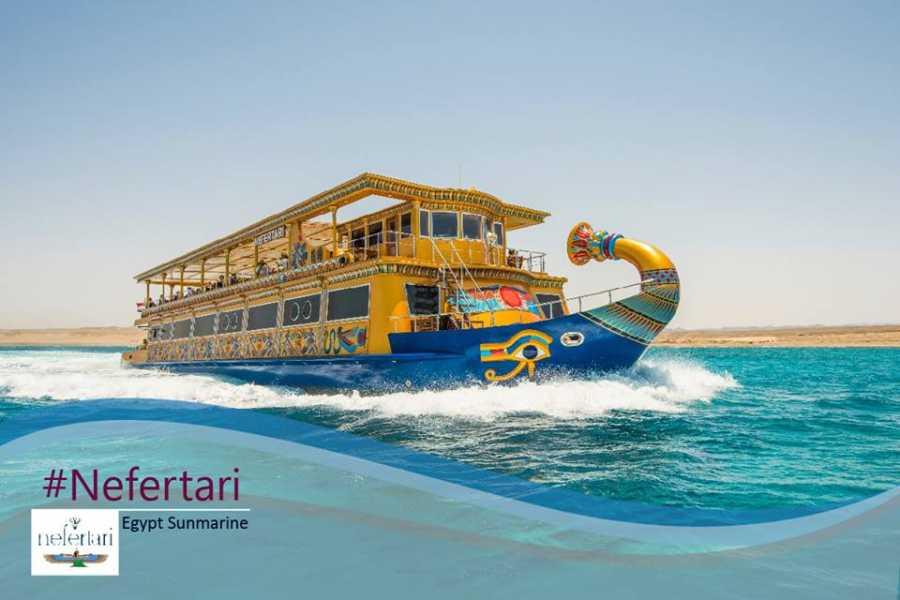 Marsa alam tours Nefertari seascope boat Trip from Marsa alam