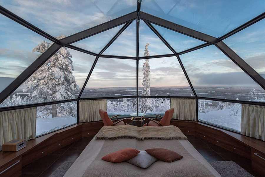 Places to Love Rovaniemi a caccia dell'aurora boreale