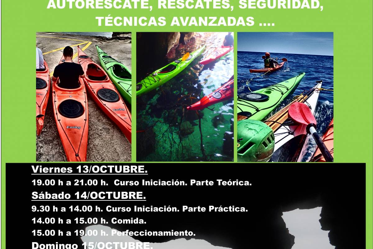 TURURAC. Turismo Activo y de Aventura I STAGE DE KAYAK DE MAR DENIA OCTUBRE 2017
