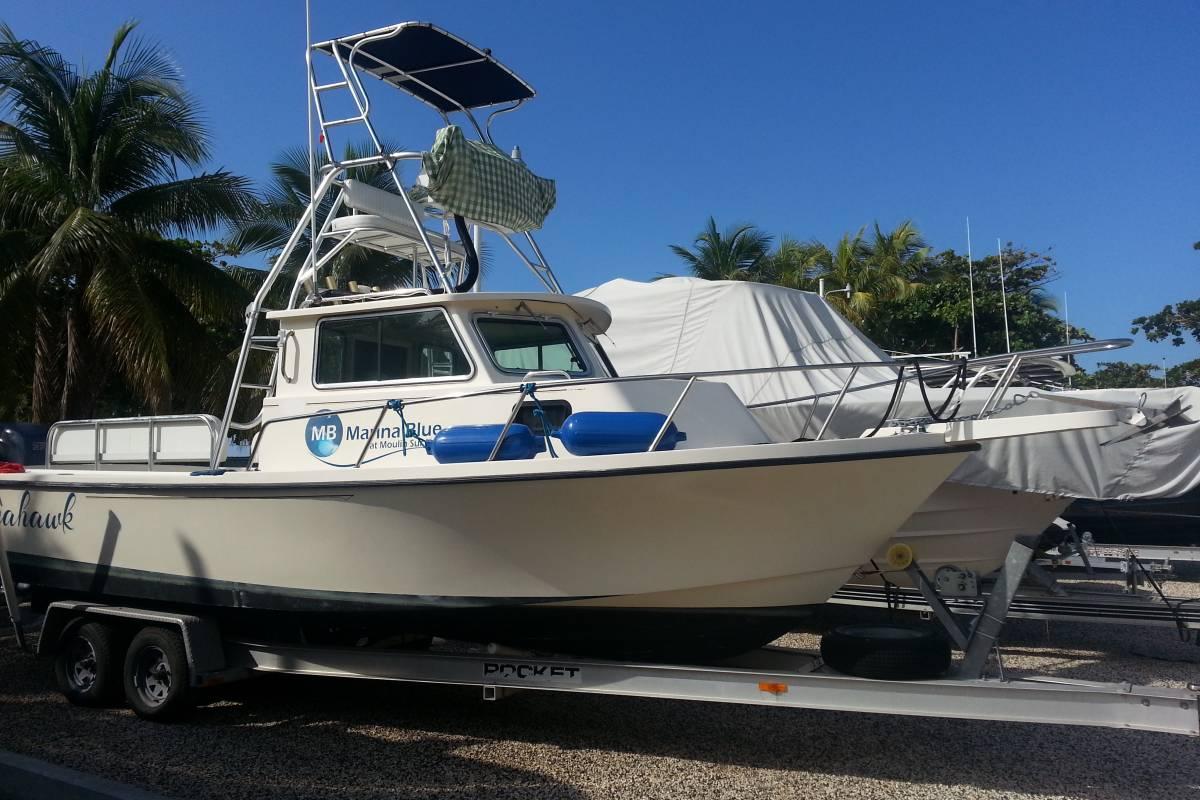 Marina Blue Haiti Plongée sous-marine Charter Plus