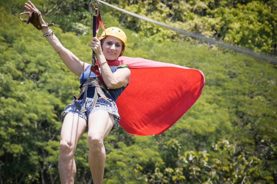 Pura Vida Casas Adventures 1. Adventure Park: Zip Line