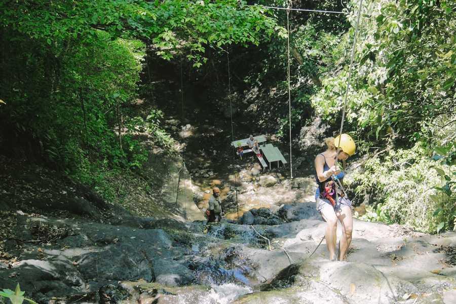 "Pura Vida Casas Adventures 4. Adventure Park ""Waterfall Rappel"""