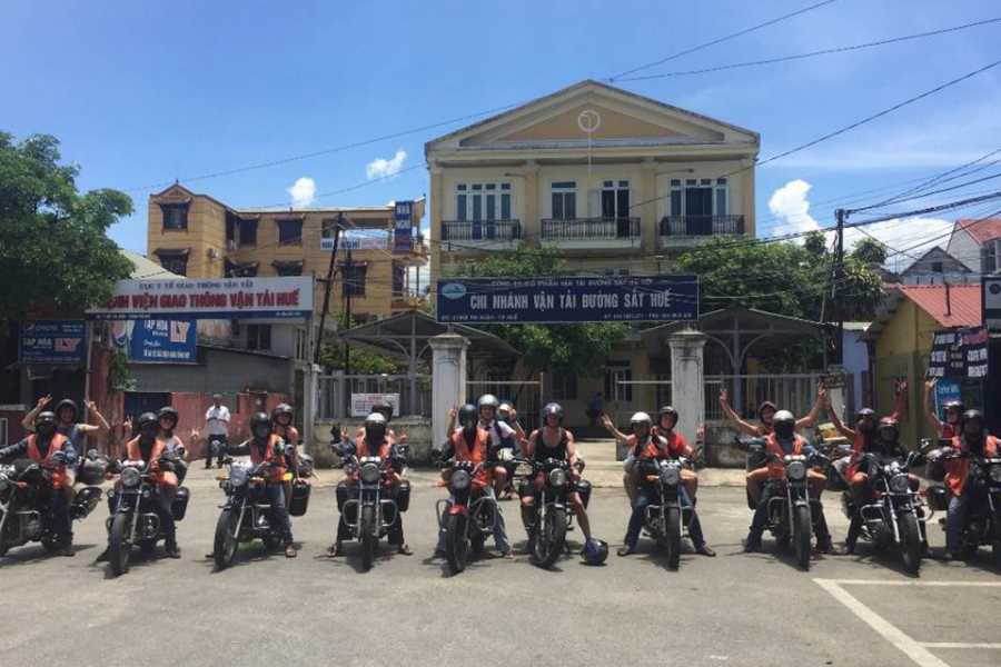Friends Travel Vietnam Easy Rider Hoi An to Hue Tour 1D