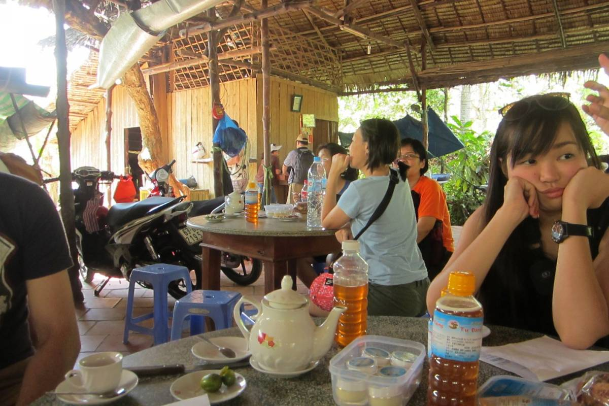 Tam Global Travel Cu Chi Tunnels & Me Kong Delta (1 day)