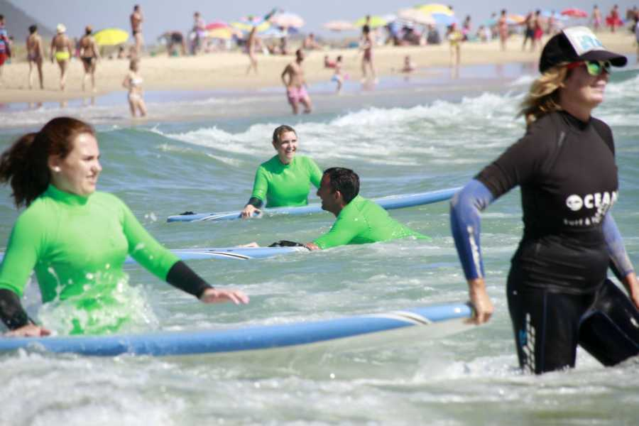 Oceano Surf Camps 7 Noches Surf y Yoga Camp Conil de la Frontera