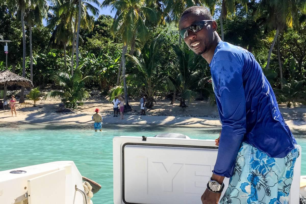 Marina Blue Haiti Boat trip to Kokoye Beach