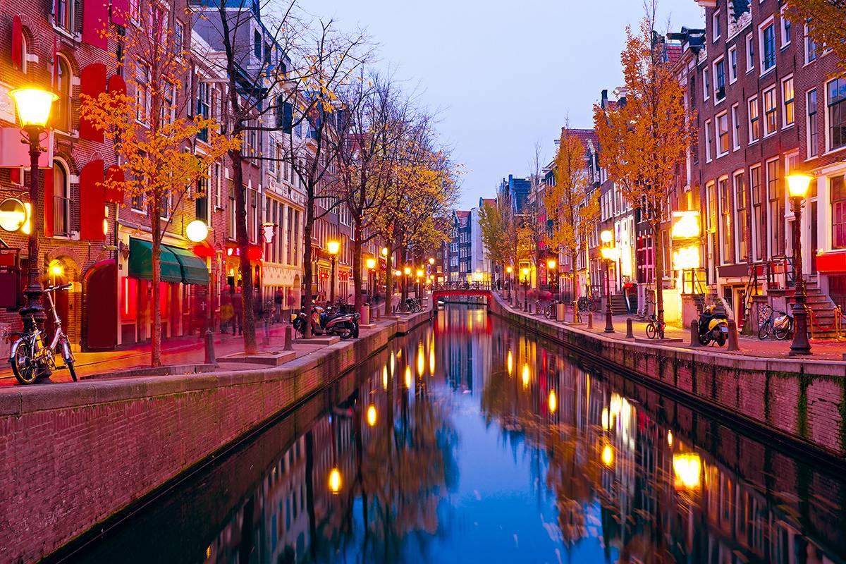 Неделя в Амстердаме!