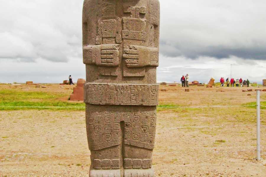 Late Bolivia LA PAZ WONDER CITY AND TIWANAKU