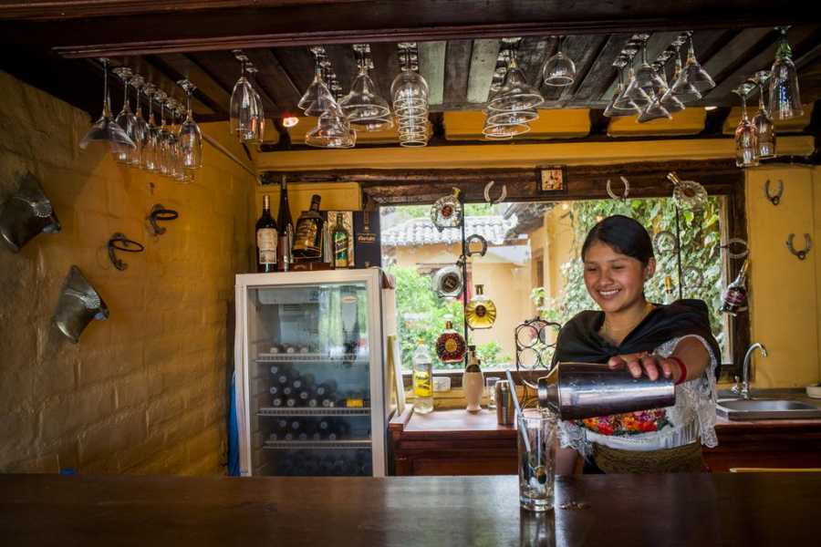 Viajando por Ecuador HOSTERÍA SAN LUIS TABACUNDO