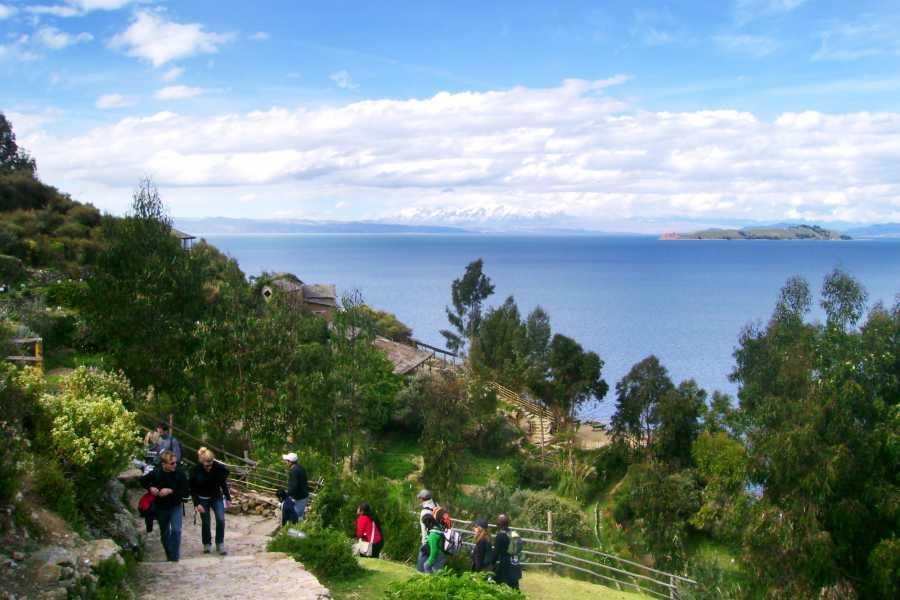 Late Bolivia LAKE TITICACA: COPACABANA AND THE SUN ISLAND