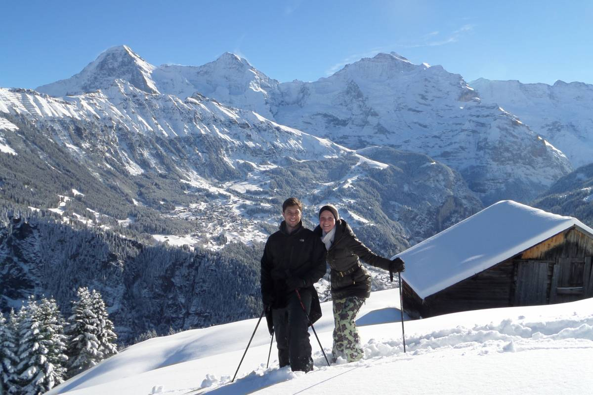 Outdoor Interlaken AG Snowshoeing