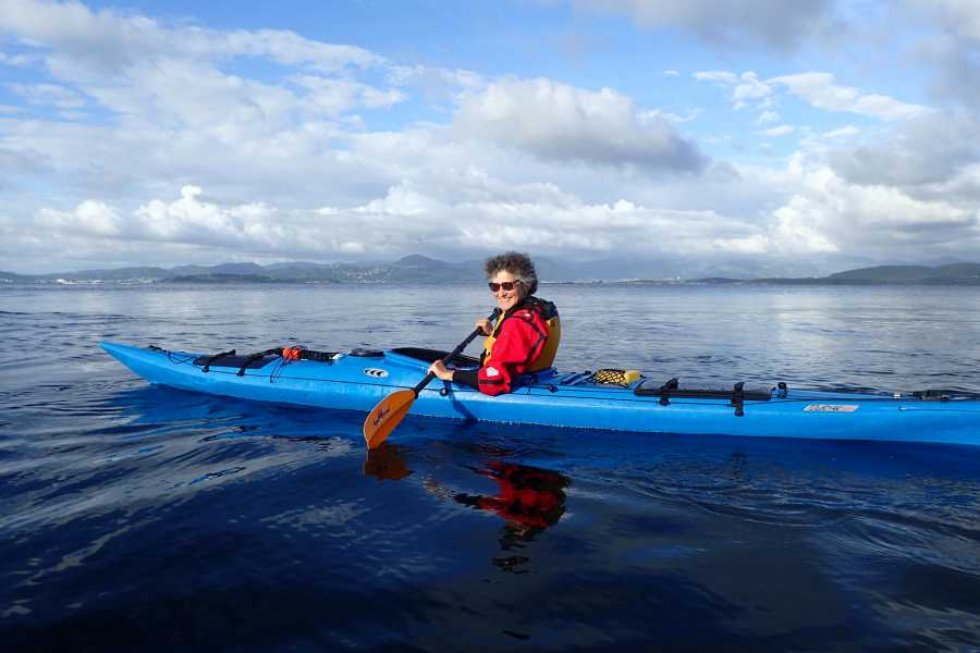 Rogaland Aktiv as Guided half day kayaking