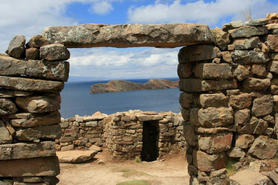Late Bolivia LAKE TITICACA: SUN AND MOON ISLANDS