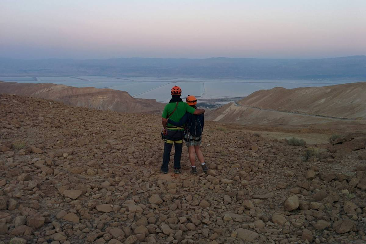 Wild-Trails Dead Sea Canyoning Adventure (Weekly)