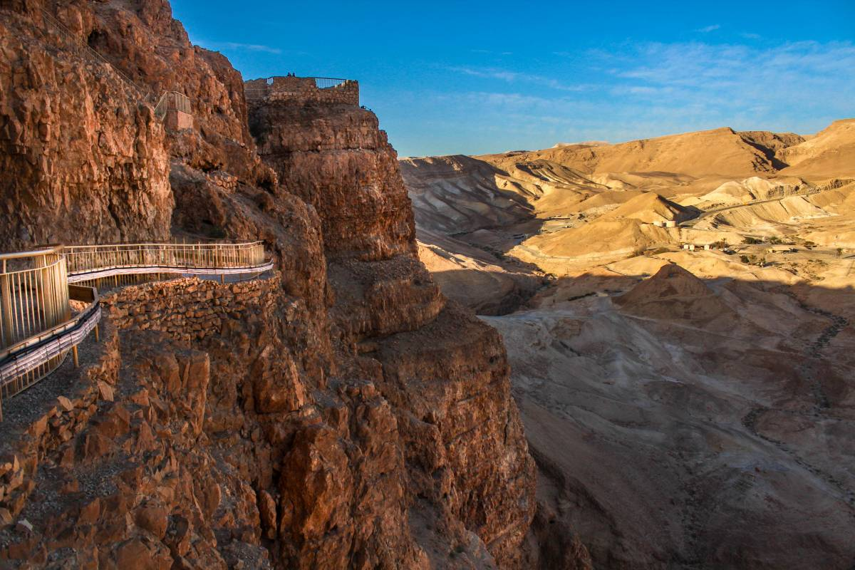 Wild-Trails Masada FREE Tour