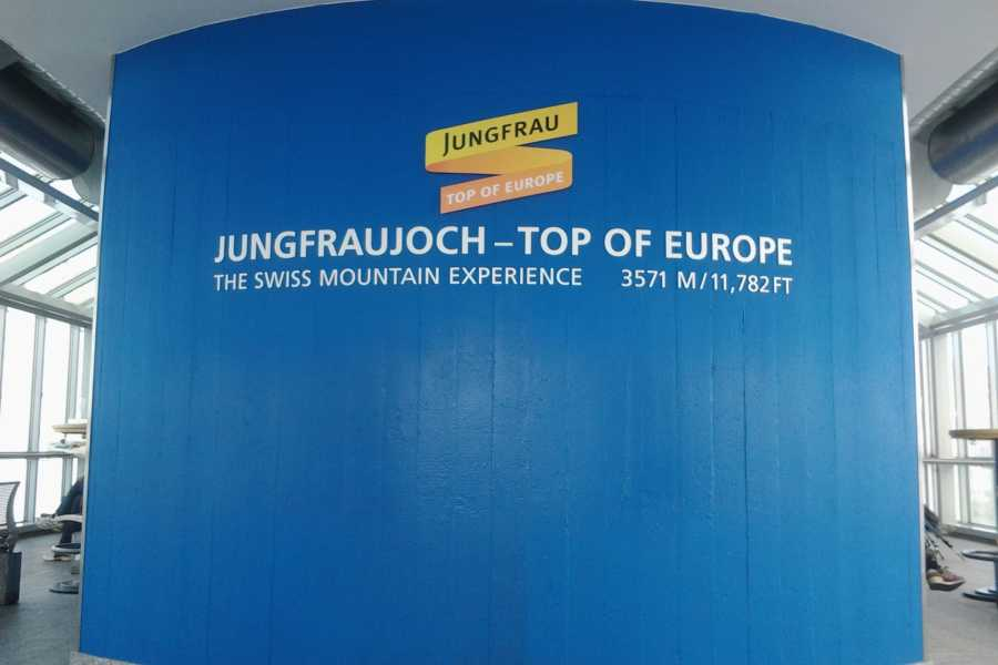 SwissTravelGuide Jungfraujoch - Top of Europe