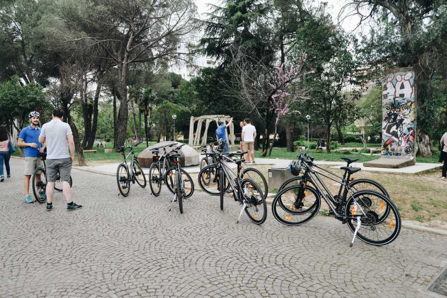 JONA TRAVEL DMC - LUFTHANSA CITY CENTER Tirana Bicycle Tour