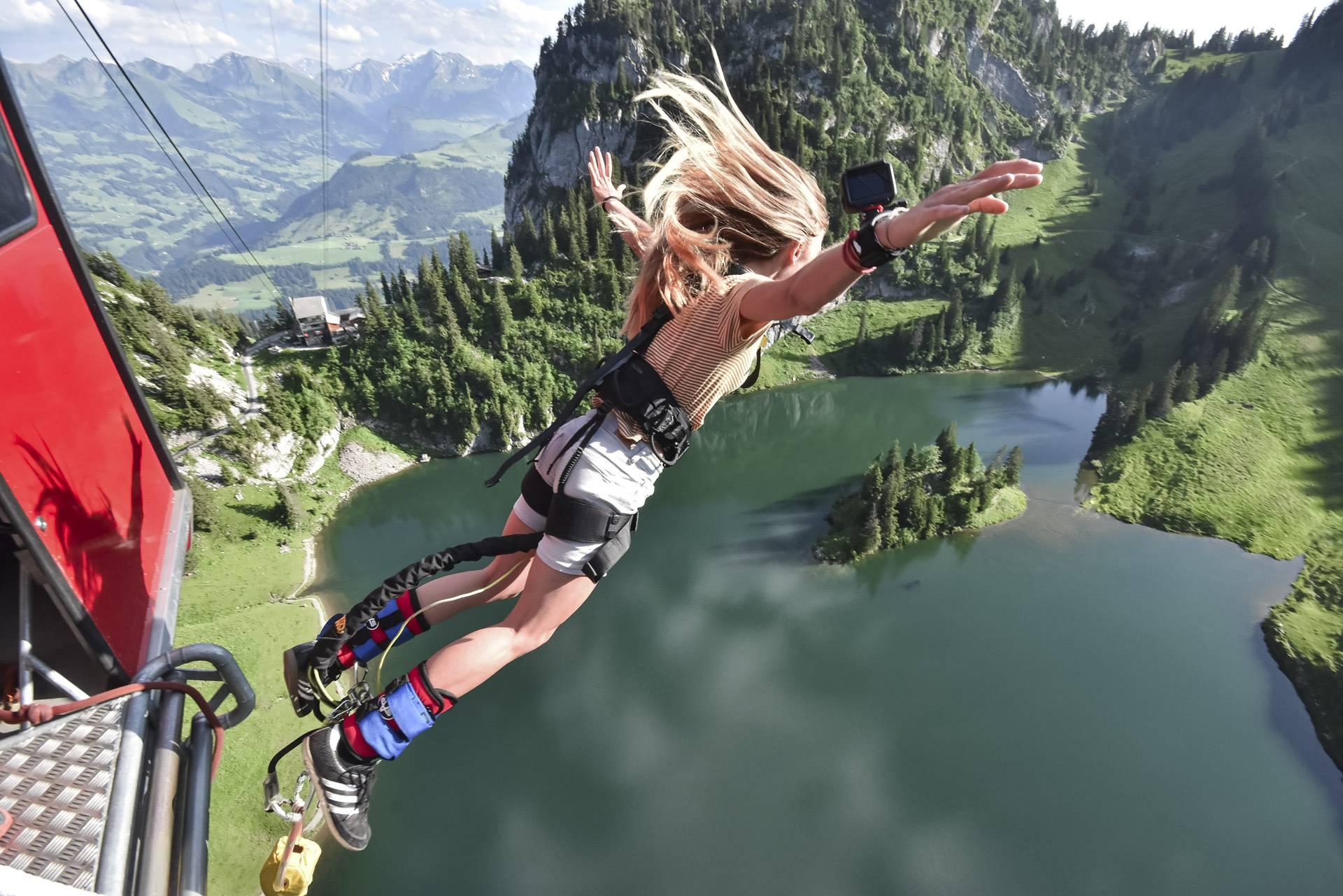 Bungy Jump Stockhorn - Outdoor Interlaken