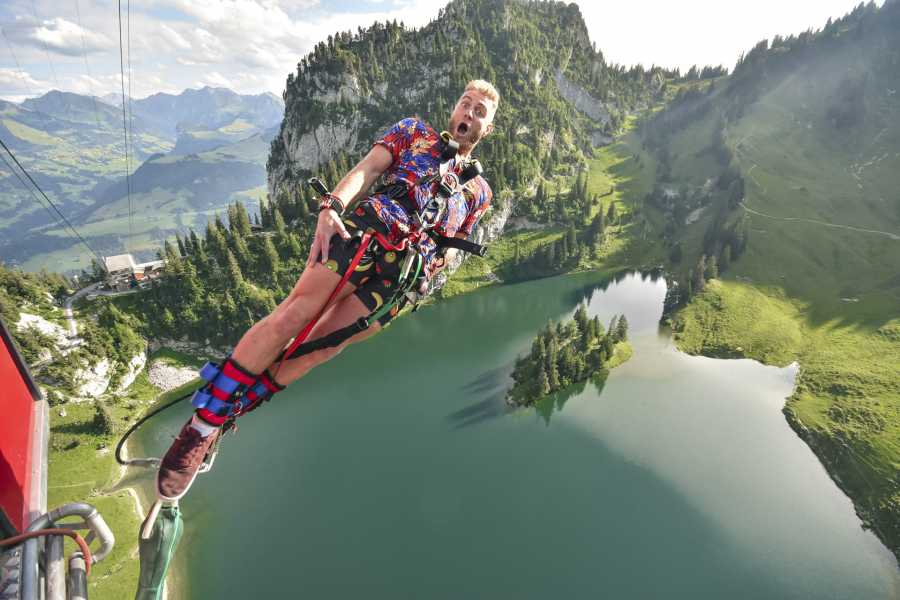 Outdoor Interlaken AG 蹦极(Bungy Jump Stockhorn)
