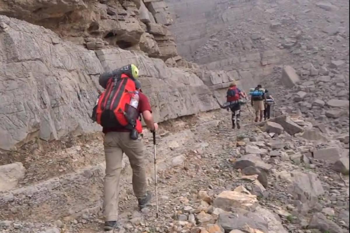 Adventurati Outdoors Backpacking Stairway to Heaven - UAE