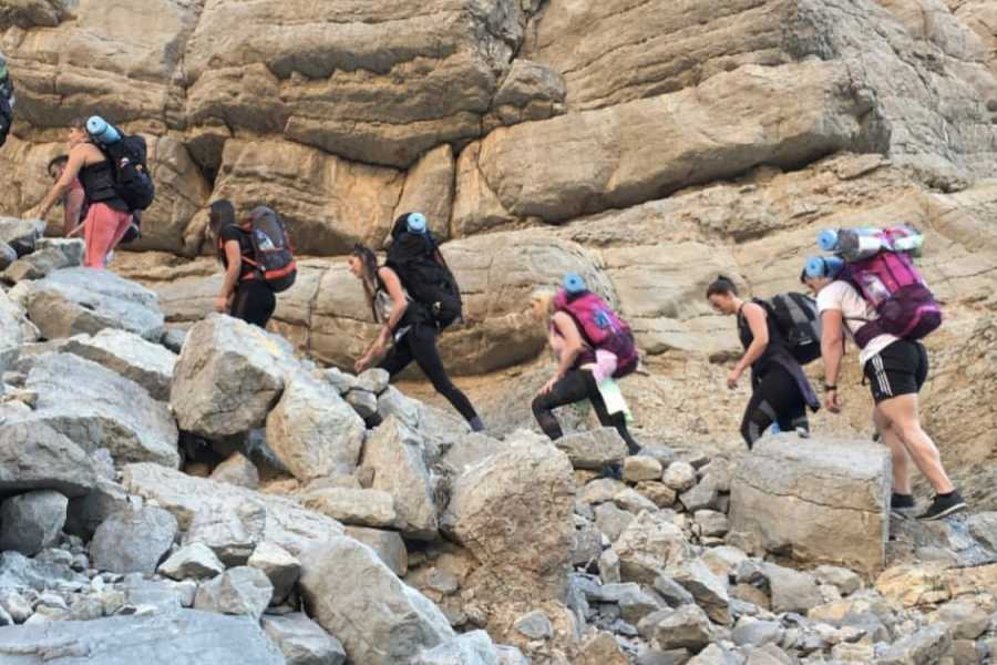 Adventurati Outdoor Backpacking Stairway to Heaven - UAE