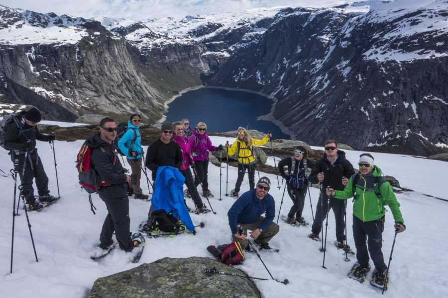Outdoorlife Norway AS Preikestolen + Trolltunga Winter/Spring Package