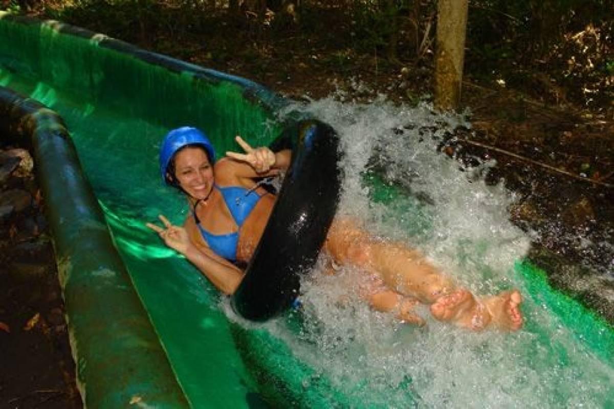 Kelly's Costa Rica Waterfall Waterslide Combo