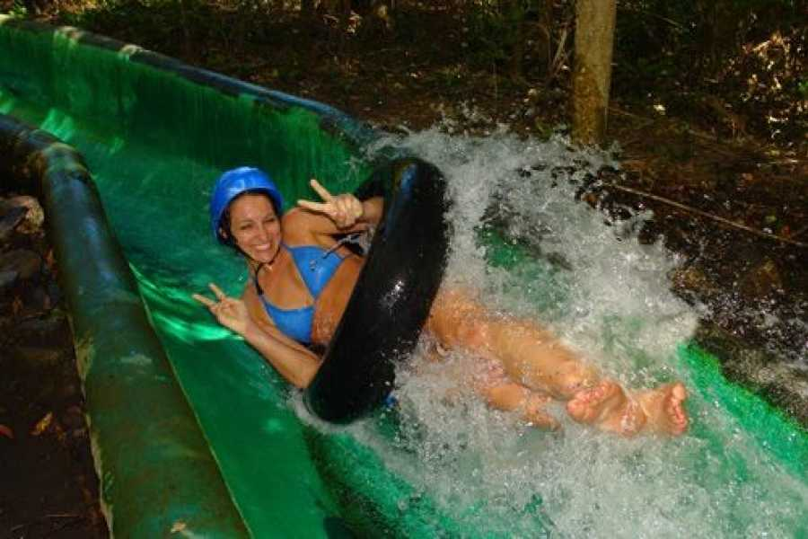 Kelly's Costa Rica Waterfall Waterslide Combo