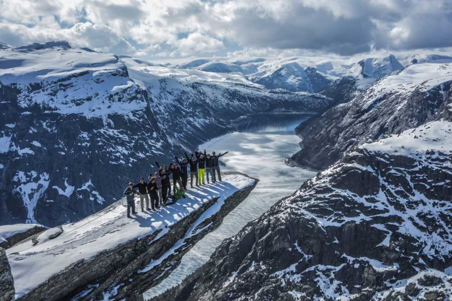 Outdoorlife Norway AS Kjerag + Preikestolen + Trolltunga Winter/Spring Package