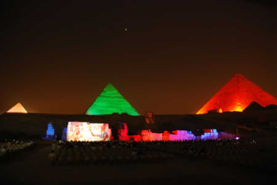 Journey To Egypt Sound and Light Show at Giza Pyramids