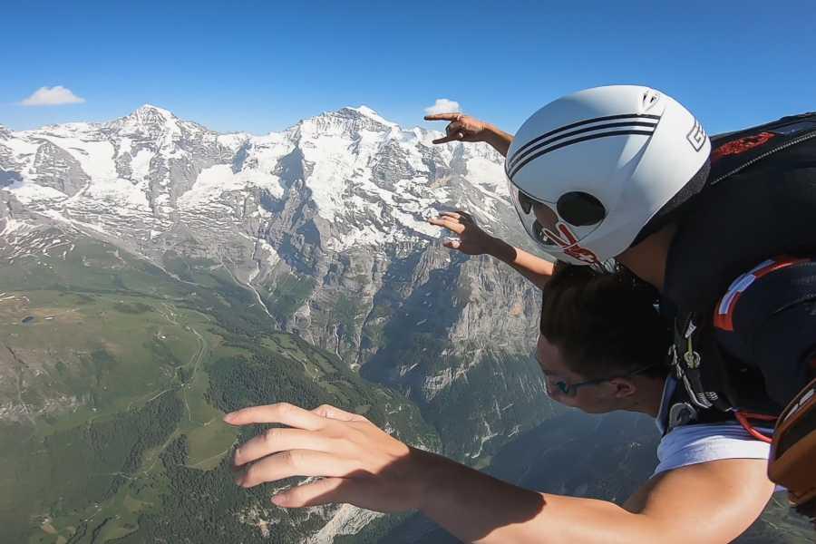 Skydive Switzerland GmbH Helikopter Fallschirmsprung