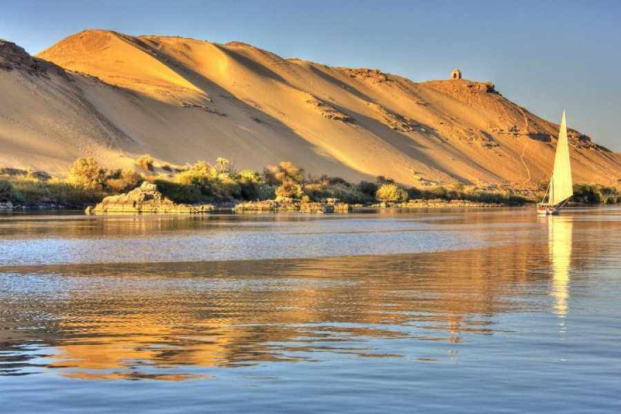 Journey To Egypt Aswan Nile Felucca Tours