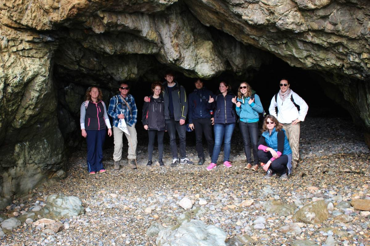Shane's Howth Hikes Rockhopping and Cave Special -  Sun February 11th