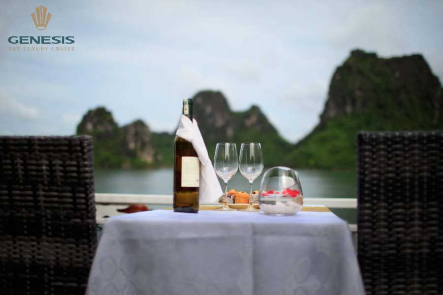 Friends Travel Vietnam Ha Long Bay Genesis  Cruise Luxury Day Tour -