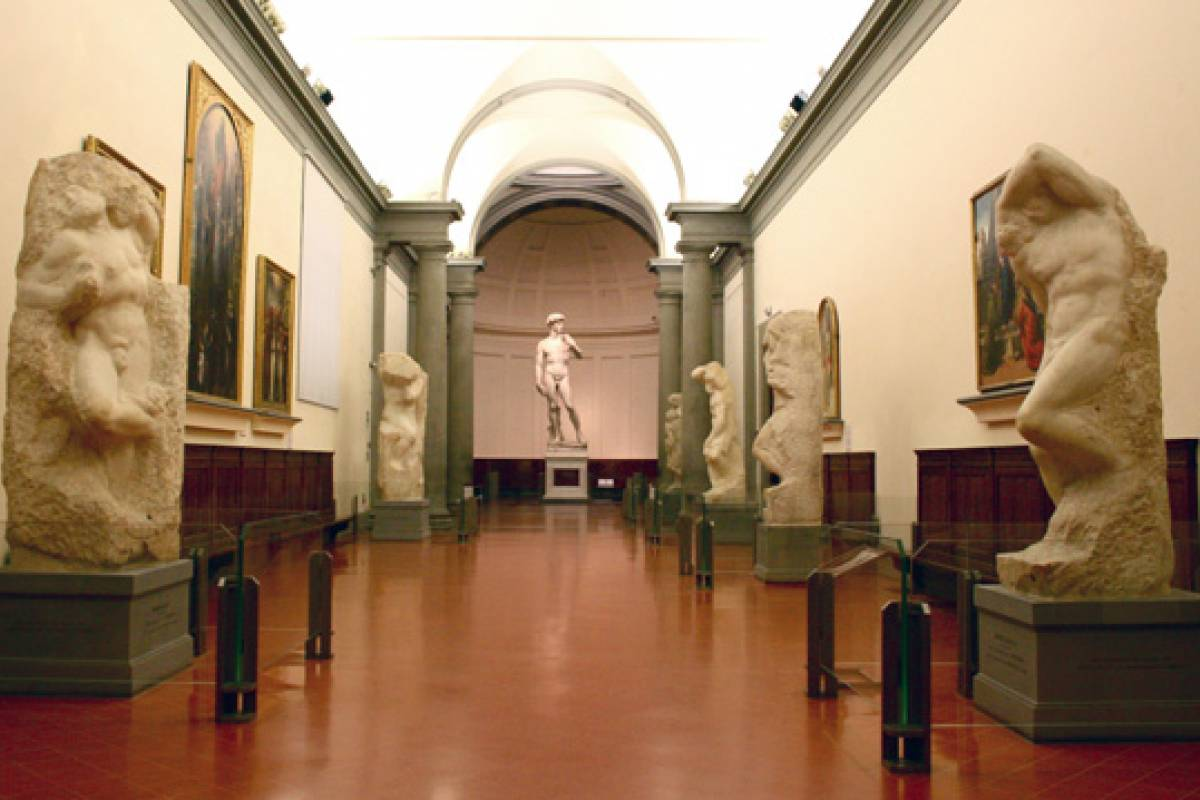 Italy on a Budget tours Accademia Gallery morning Guided visit