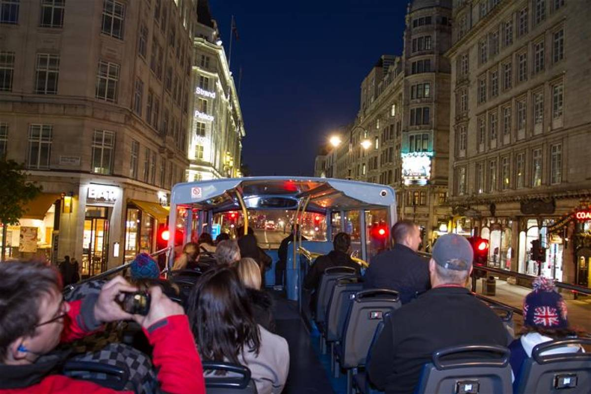 Muslim History Tours London Night Bus Sightseeing tour