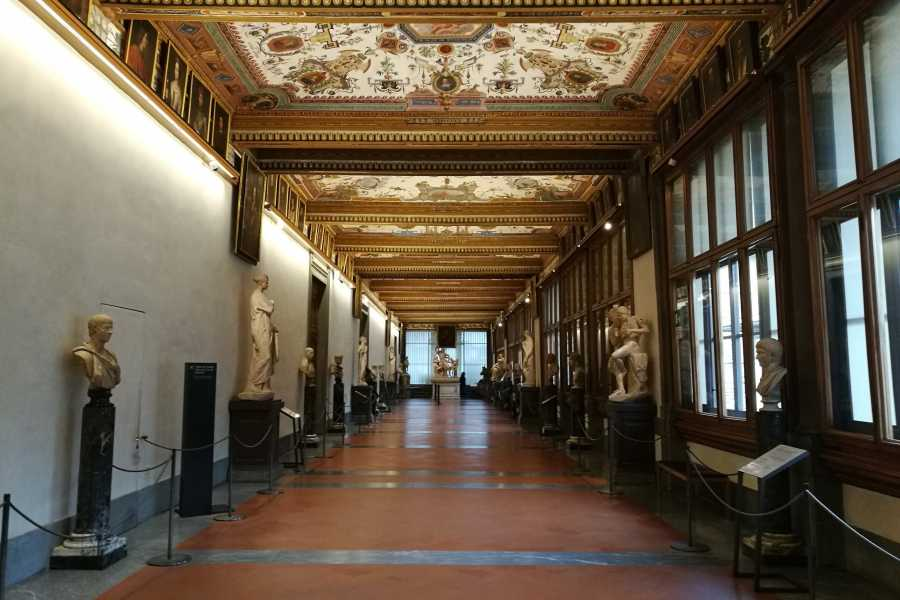 Keys of Florence Discover Uffizi and Palazzo Vecchio: Half day guided tour