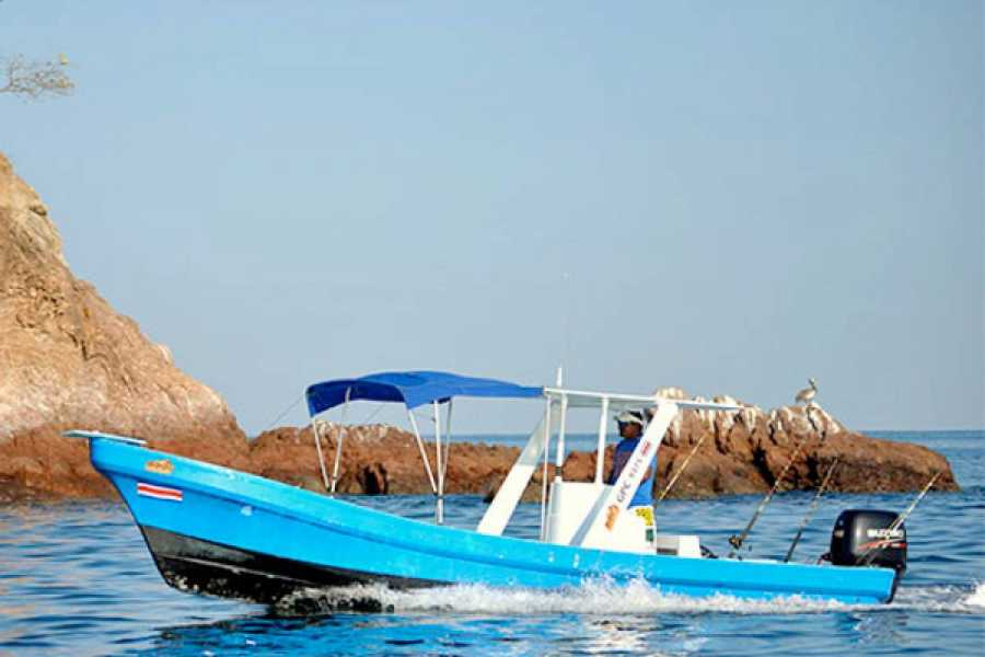 Krain Concierges Snorkeling and Fishing Panga Boat