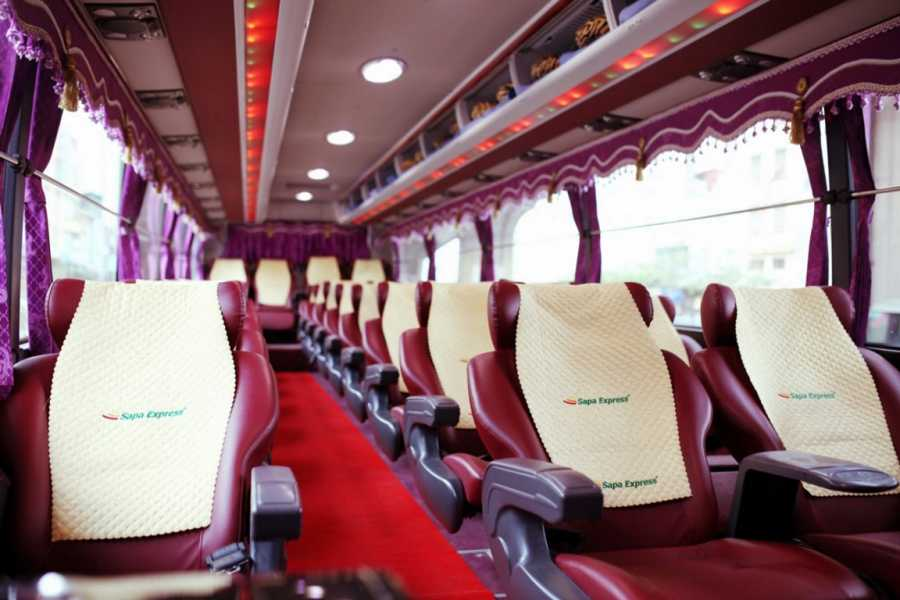 Friends Travel Vietnam Afternoon Bus Sapa - Hanoi (Sapa Express 15.00PM)