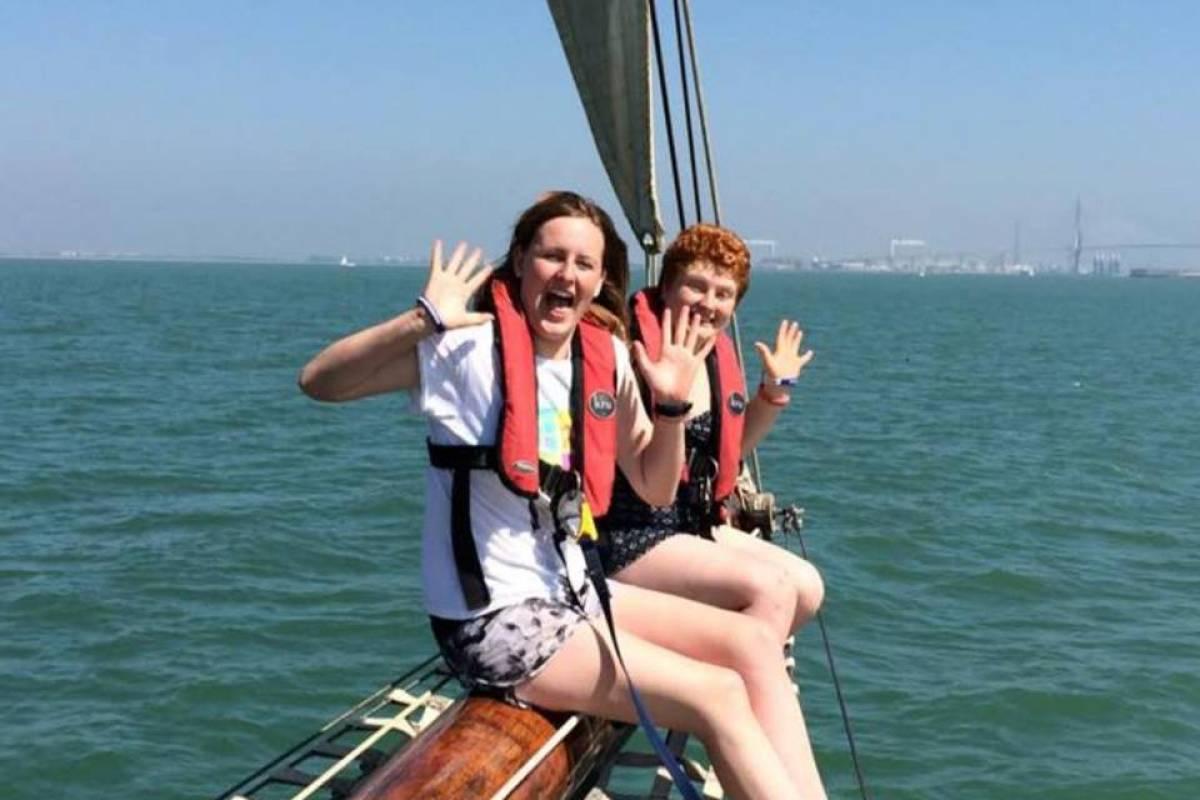 Maybe Sailing International Tall Ship Races. Race 2
