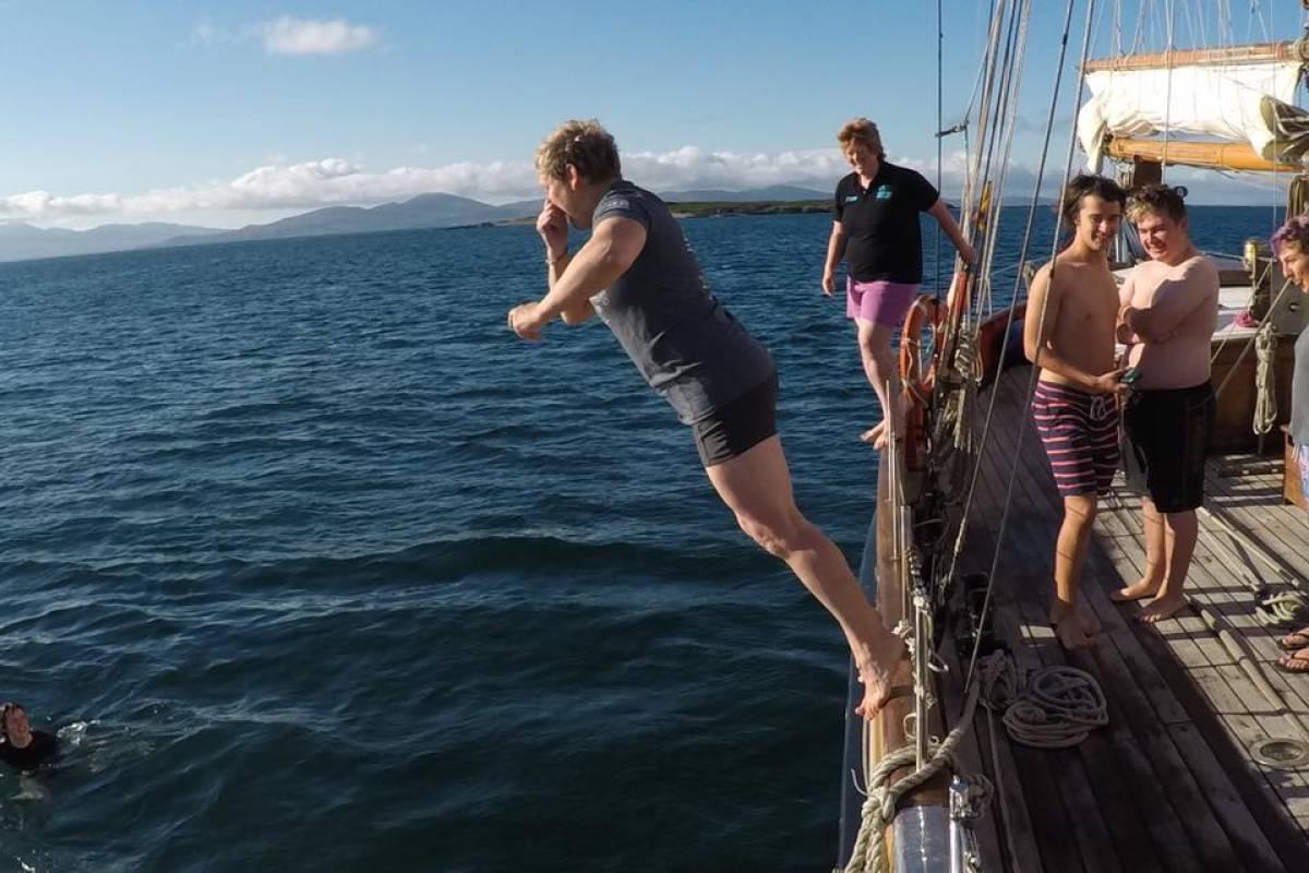 Maybe Sailing Summer Youth Voyage 1