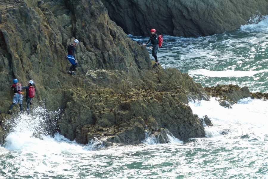 Gone Paddling Coasteering