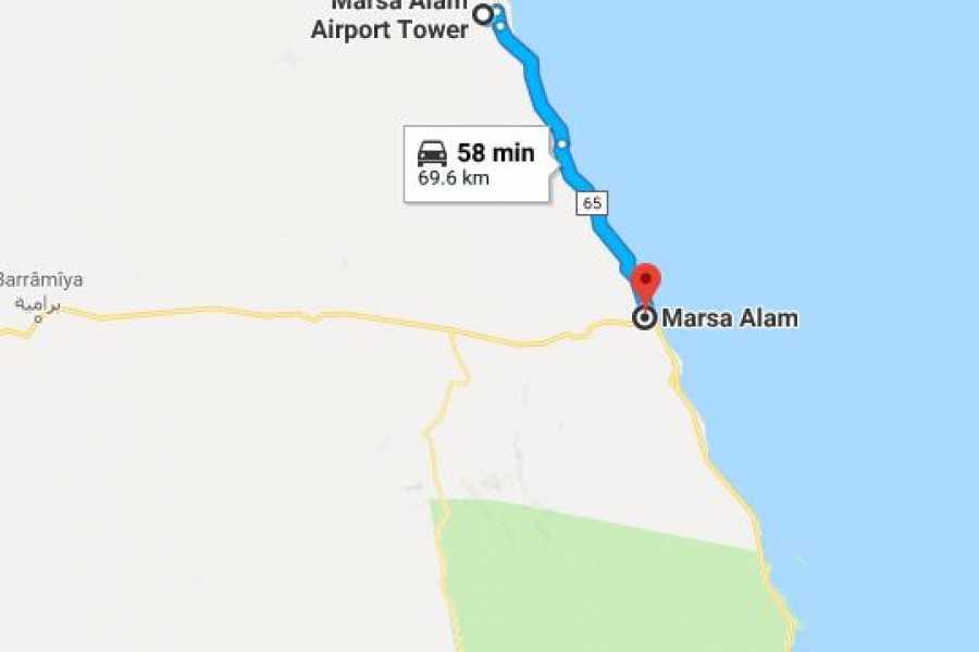 Marsa alam tours Privater Transfer vom Flughafen Marsa Alam zum Hotel in Marsa alam