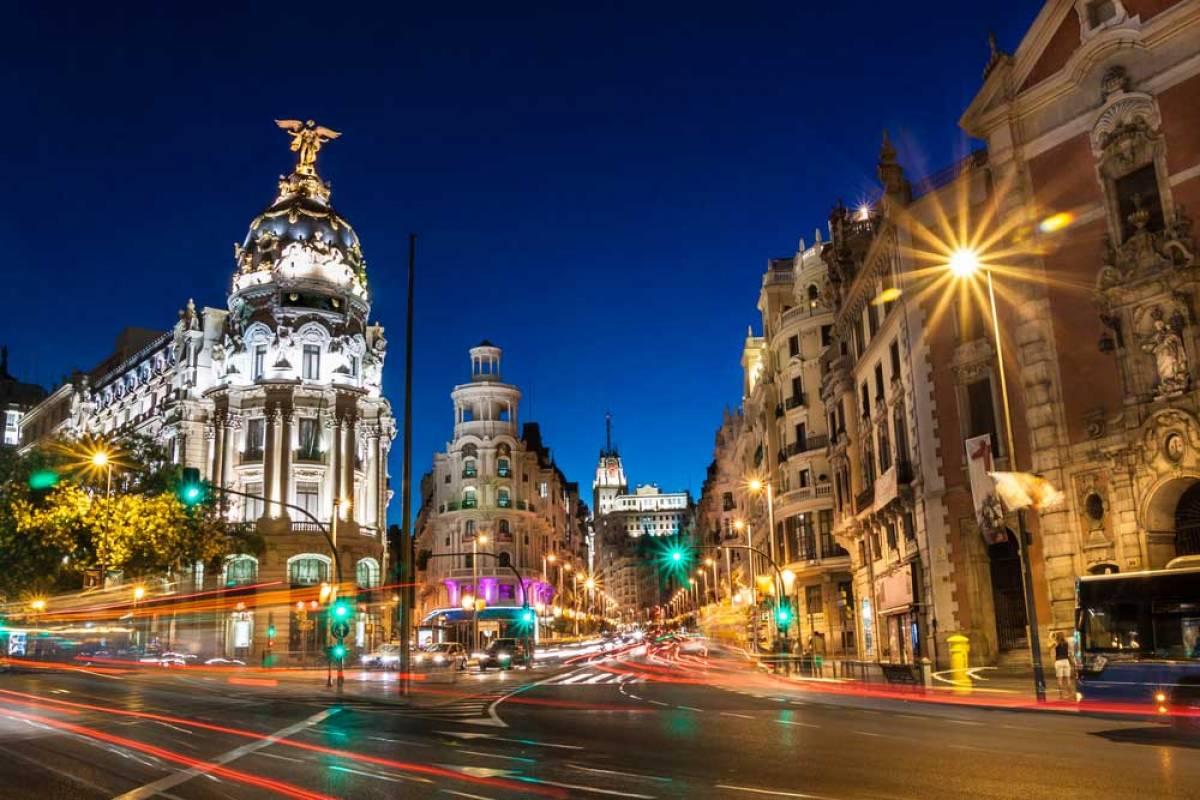 Urban Safari Tours Tuk Tuk: Tour Madrid de noche