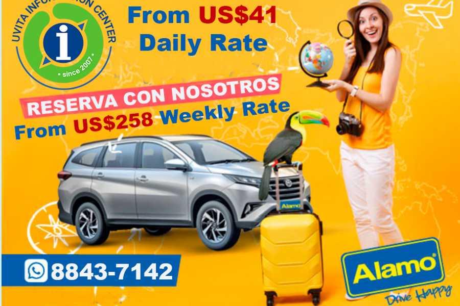Uvita Information Center Car rental